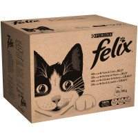 Felix Variety Selection Adult Cat Food 100g x 120