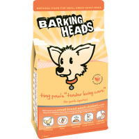 Barking Heads Small Breed Bowl Lickin Chicken Adult Dog Food 1.5kg