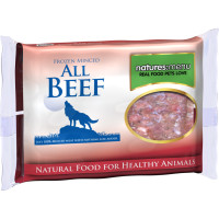 Natures Menu Minced Beef Raw Frozen Dog Food 400g x 12