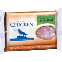 Natures Menu Minced Chicken Raw Frozen Dog Food 400g x 12