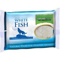 Natures Menu Minced White Fish Raw Frozen Dog Food 400g x 12