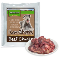 Natures Menu Beef Chunks Raw Frozen Dog Food
