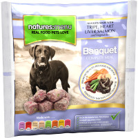 Natures Menu Complete Banquet Nuggets Raw Frozen Dog Food 1kg