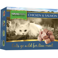 Natures Menu Complete Chicken & Salmon Nuggets Raw Frozen Cat Food