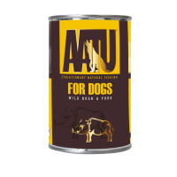 AATU Wild Boar & Pork Wet Dog Food 400g x 6