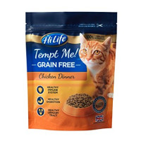 HiLife Tempt Me Grain Free Chicken Dinner Adult Cat Food