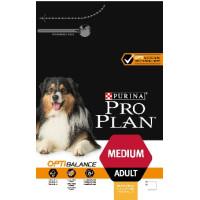 PRO PLAN OPTIBALANCE Rich in Chicken Medium Adult Dog Food 3kg