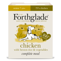 Forthglade Complete Chicken Senior Dog Food 395g x 18