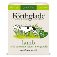 Forthglade Lifestages Grain Free Lamb Butternut Squash Veg & Adult Dog Food 395g x 18