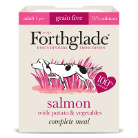 Forthglade Complete Salmon with Potato & Veg Grain Free Dog Food 395g x 7