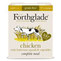 Forthglade Complete Chicken with Butternut Squash & Veg Grain Free 395g x 7