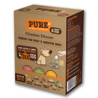 Pure Pet Food Chicken Dinner Dehydrated Dog Food