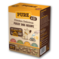 Pure Pet Food Chicken Delicious Dehydrated Dog Food 500g (2kg Rehydrated)
