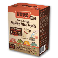 Pure Pet Food Duck Delight Rehydrated Dog Food 500g (2kg Rehydrated)