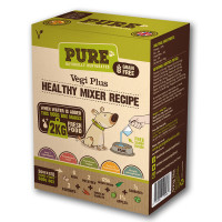 Pure Pet Food Vegi Plus Dehydrated Mixer for Dogs 500g (2kg Rehydrated)