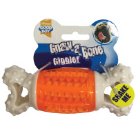 Good Boy Gnaw-a- Bone Giggler Dog Toy