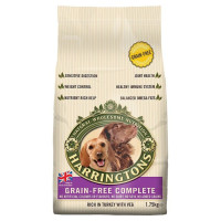 Harringtons Grain Free Turkey & Vegetables Adult Dog Food 15kg