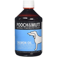 Pooch & Mutt Salmon Oil for Dogs & Cats 500ml