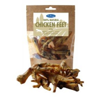 Hollings Natural Chicken Feet for Dogs 100g
