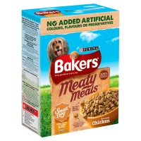 Bakers Meaty Meals Chicken Small Adult Dog Food 1kg