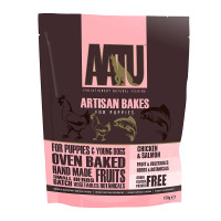 AATU Chicken & Salmon Artisan Bakes Puppy Treats 150g
