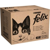 Felix Mixed Selection In Jelly Pouch Cat Food 100g x 120