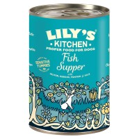 Lilys Kitchen Sensitive Fish Supper for Dogs 400g x 6