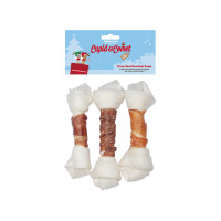 Cupid & Comet  Christmas Three Bird Rawhide Roast for Dogs 195g