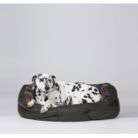 Barbour Wax & Cotton Dog Bed Large
