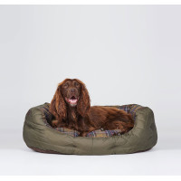 Barbour Quilted Dog Bed Large