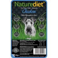 Naturediet Chicken Vegetables & Rice