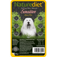Naturediet Grain Free Sensitive Salmon & White Fish Dog Food 390g x 18