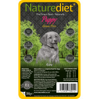 Naturediet Grain Free Chicken & Lamb Puppy Food 390g x 18