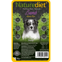 Naturediet Grain Free Lamb with Vegetables Dog Food 390g x 18