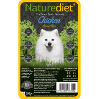 Naturediet Grain Free Chicken Dog Food 390g x 18