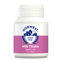 Dorwest Milk Thistle Tablets 100 Tablets