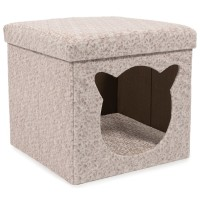 Ancol Crushed Velvet Cat Cabin