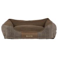 Scruffs Windsor Box Dog Bed in Chestnut