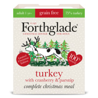 Forthglade Complete Turkey with Cranberry & Parsnip Grain Free Adult Dog Food 395g x 7