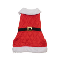 Rosewood Santa Christmas Dog Coat Large