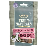 Lilys Kitchen Truly Naturals Crispy Tripe Adult Dog Treats 80g