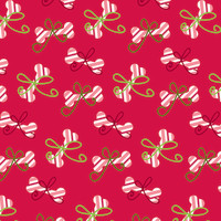 Ruff Wrap Pet Safe Christmas Wrapping Paper Candy Cane Wrapping Paper, Folded Sheet, 990mm x 660mm
