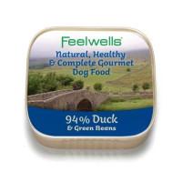 Feelwells Duck & Green Beans Wet Dog Food