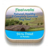 Feelwells Trout & Potato Wet Dog Food