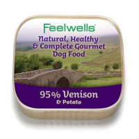 Feelwells Venison & Potato Wet Dog Food
