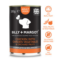 Billy & Margot Chicken Complete Adult Dog Food 395g x 24