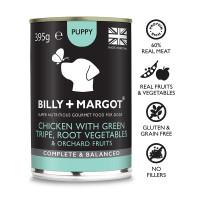 Billy & Margot Chicken & Tripe Complete Puppy Food 395g x 24
