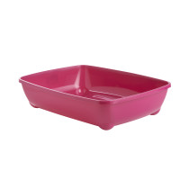 Sharples Pet Hot Pink Cat Litter Trays Large