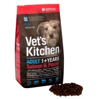 Vets Kitchen Adult Salmon & Potato Dog Food 7.5kg