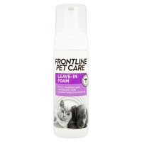 Frontline Pet Care Leave-in Foam Dog & Cat Shampoo 150ml